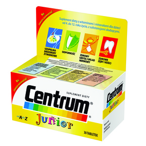 Centrum Junior 30tbl do żucia