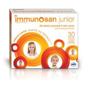 Immunosan junior 30kaps